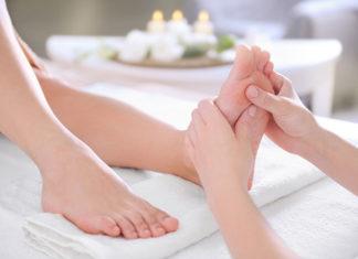 Refleksologia stóp jako technika masażu leczniczego