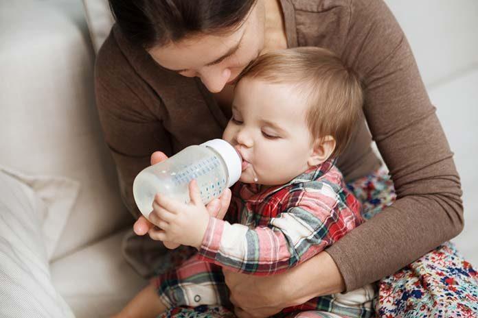Odpowiednia butelka dla dziecka